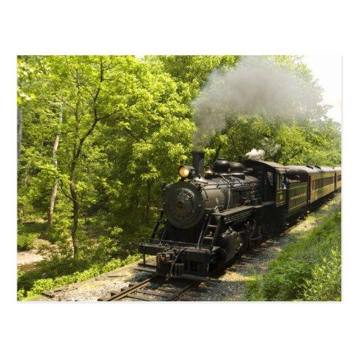 New Hope Steam Engine Number 40 Post Card