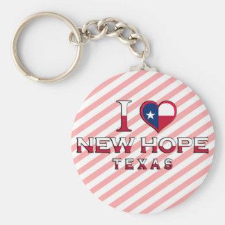 New Hope, Texas Key Chain