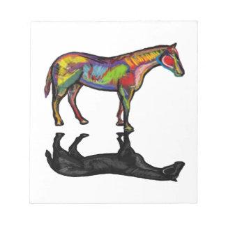 NEW HORIZON HORSE NOTEPAD