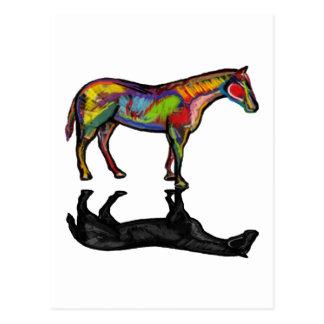 NEW HORIZON HORSE POSTCARD