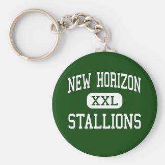 New Horizon - Stallions - Continuation - Banning Keychain