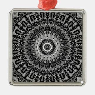 New Horizons Black and White Kaleidoscope Ornaments