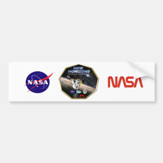 New Horizons Mission To Pluto! Bumper Sticker
