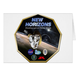 New Horizons Mission To Pluto! Card