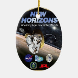 New Horizons Mission To Pluto! Ceramic Ornament