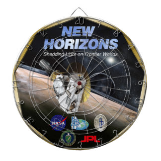 New Horizons Mission To Pluto! Dart Board