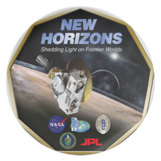 New Horizons Mission To Pluto! Melamine Plate