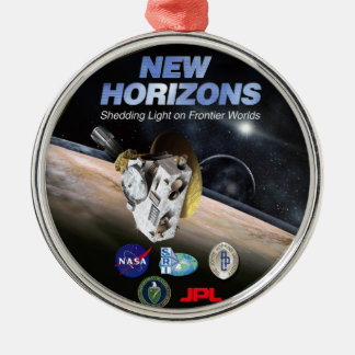 New Horizons Mission To Pluto! Metal Ornament