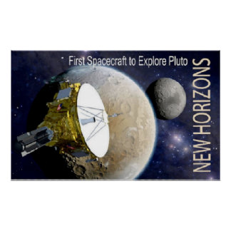 New Horizons Mission To Pluto! Poster