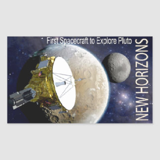 New Horizons Mission To Pluto! Stickers