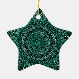 New Horizons No 5 Emerald Kaleidoscope Christmas Ornaments