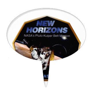 New Horizons Operations Team Logo Cake Topper