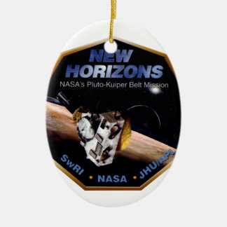 New Horizons Operations Team Logo Ceramic Ornament