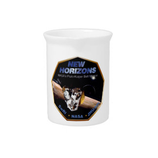 New Horizons Operations Team Logo Drink Pitcher