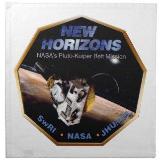 New Horizons Operations Team Logo Napkin
