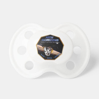New Horizons Operations Team Logo Pacifier