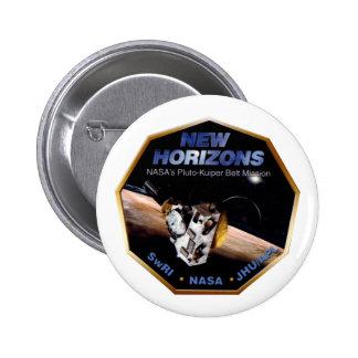 New Horizons Operations Team Logo Pinback Button