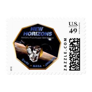 New Horizons Operations Team Logo Postage