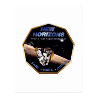 New Horizons Operations Team Logo Postcard