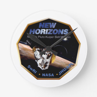 New Horizons Operations Team Logo Round Clock