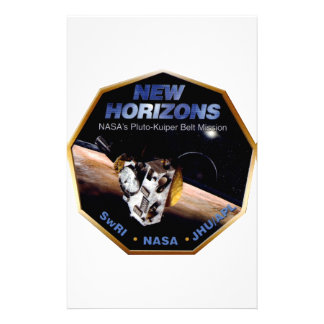 New Horizons Operations Team Logo Stationery