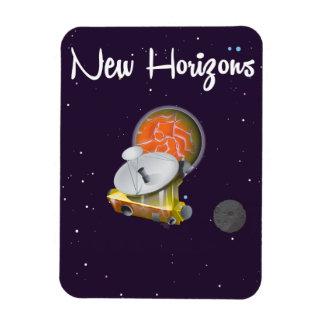 New Horizons Space craft at Pluto Post Card Rectangular Photo Magnet