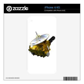 New Horizons spacecraft Decals For The iPhone 4S