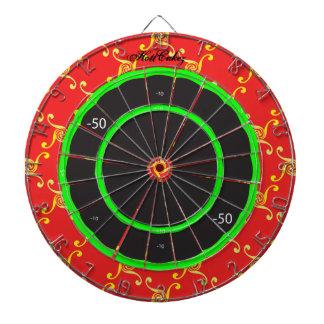 New HottCakez dartboard by Thomas Wolfe