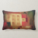New House In the Suburbs Throw Pillows