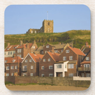 New housing and St Margarets church, Whitby, Beverage Coaster