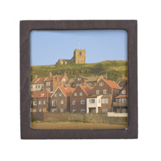 New housing and St Margarets church, Whitby, Jewelry Box