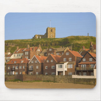 New housing and St Margarets church, Whitby, Mousepad