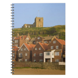 New housing and St Margarets church, Whitby, Notebook
