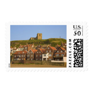 New housing and St Margarets church, Whitby, Postage