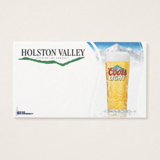 New Hvdc Beer Biz card