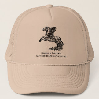 New!  Iberian Horse Rescue wearables! Trucker Hat