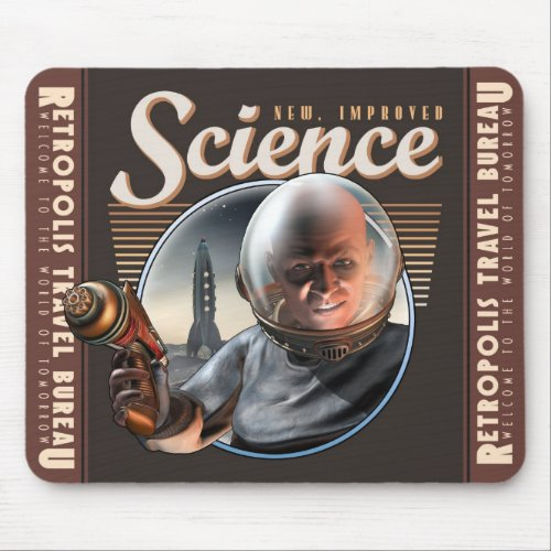 New, Improved SCIENCE Ray Gun Mouse Pad