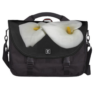 new in Christ scripture with lilies carryall Commuter Bags