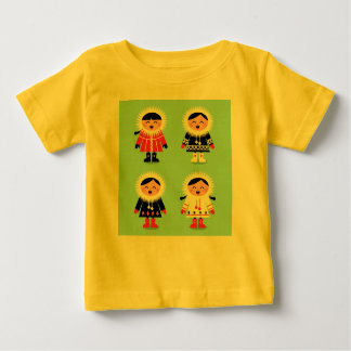 NEW IN SHOP : Kids yellow t-shirt with Eskimos