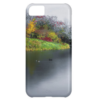 NEW  iphone 5 Silver Duck Pond iPhone 5C Cover