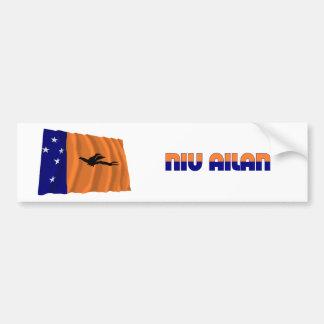 New Ireland Province Waving Flag Bumper Stickers
