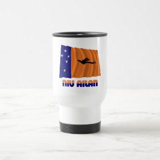 New Ireland Province Waving Flag 15 Oz Stainless Steel Travel Mug