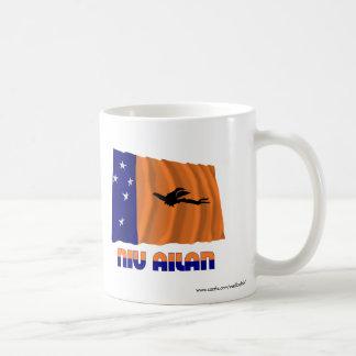 New Ireland Province Waving Flag Classic White Coffee Mug