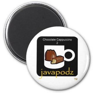 New JavaPodz Chocolate Cappuccino Magnet