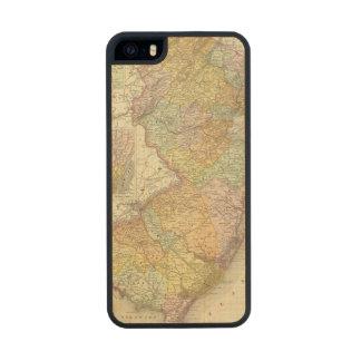 New Jersey 10 Funda De Madera Para iPhone 5