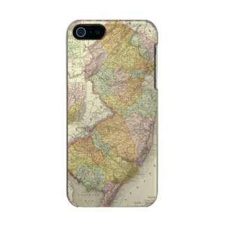 New Jersey 10 Metallic iPhone SE/5/5s Case