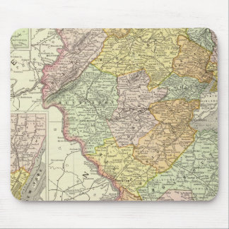 New Jersey 10 Mouse Pad