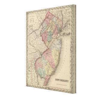 New Jersey 12 Canvas Print