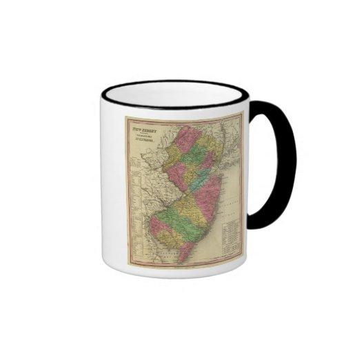 New Jersey 12 Ringer Mug