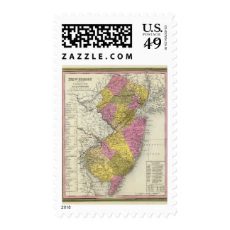 New Jersey 15 Postage